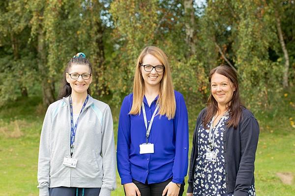 Mrs Geraldine Turney, Miss Catrin Evans, Mrs Rebecca Burgess