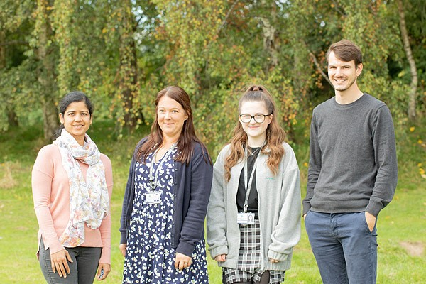 Mrs Sangeeta Kalgoankar, Mrs Rebecca Burgess, Miss Emma Ball, Mr Curtis Payne