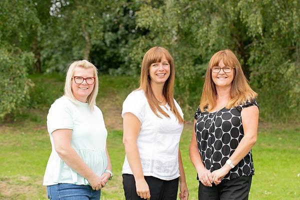 Mrs Beverly Milburn, Mrs Nicola Gregory, Mrs Tina Churchill